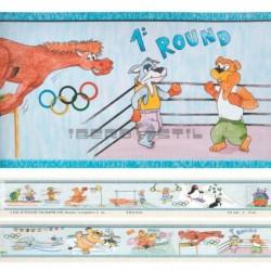Cenefa adhesiva Cenefas Infantil Los Juegos Olimpicos