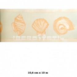Cenefa adhesiva con estampado Cenefa Cenefas Infantil blanca dibujo animales
