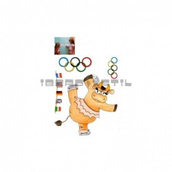 Cenefa adhesiva Cenefas Infantil Las olimpiadas