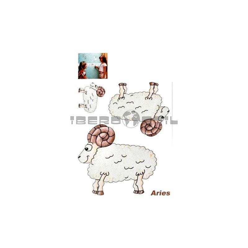 Cenefa adhesiva Cenefas Infantil Aries