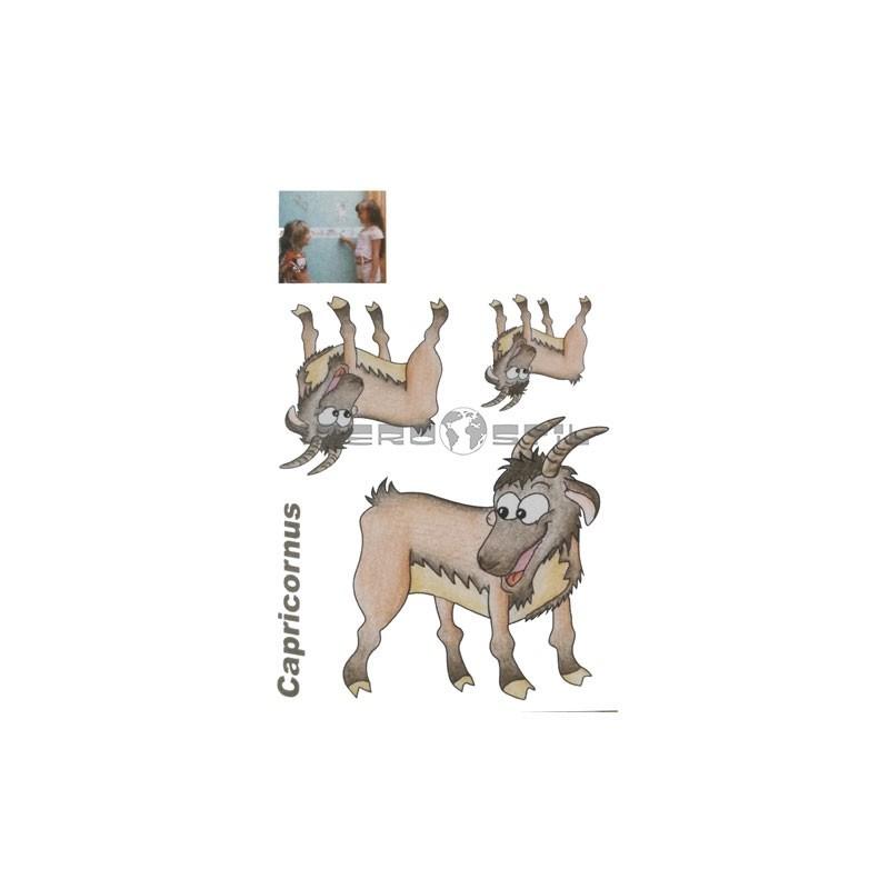 Cenefa adhesiva Cenefas Infantil Capricornio