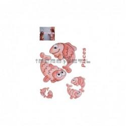 Cenefa adhesiva Cenefas Infantil Piscis
