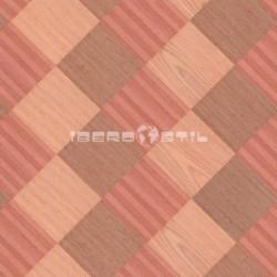 revestimientos de paredes  de Wood Venier sapele + red/purple rosewood de iberostil