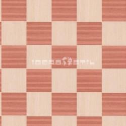 revestimientos de paredes  de Wood Venier sapele + white oak de iberostil