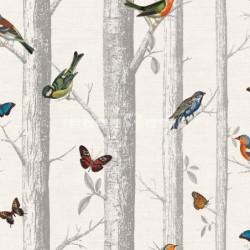 papel pintado  Viena de estampado botánico estilo Country