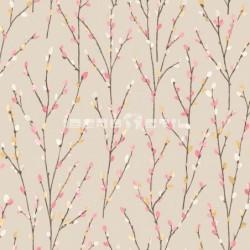 papel pintado  La Valetta de estampado botánico estilo Country