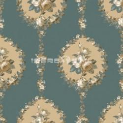 papel pintado vintage andamán de la colección vintage fashion home estampado floral
