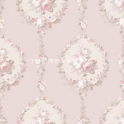 papel pintado vintage ansenuza de la colección vintage fashion home estampado floral