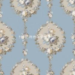 papel pintado vintage azov de la colección vintage fashion home estampado floral