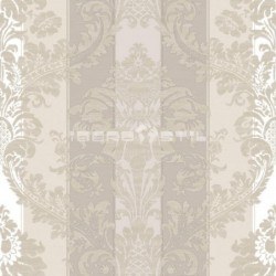 papel pintado vintage bering de la colección vintage fashion home estampado de rayas