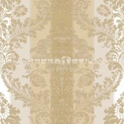 papel pintado vintage blanco de la colección vintage fashion home estampado de rayas
