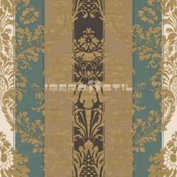 papel pintado vintage canal de la mancha de la colección vintage fashion home estampado de rayas