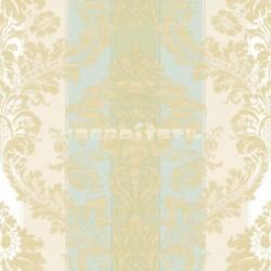 papel pintado vintage caribe de la colección vintage fashion home estampado de rayas