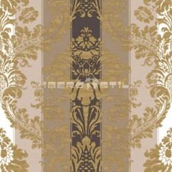 papel pintado vintage celta de la colección vintage fashion home estampado de rayas