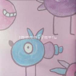 papel pintado barato outlet plata Outlet Animales Outlet Infantil