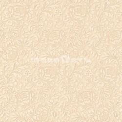 papel pintado vintage espinela de la colección classic moments de estampado floral y metálico