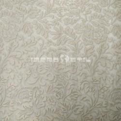 papel pintado vintage kunzita de la colección classic moments de estampado floral y metálico