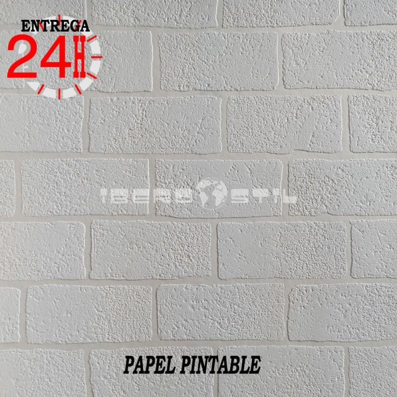 papel pintado infantil y juvenil esfena (Outlet Ladrillo Outlet Pintable) de la colección stoerder Outlet Pintable geométrico
