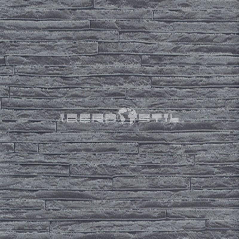 papel pintado barato papel ladrillo cerámico negro 6711-10 de la colección efectos 1 de nuestro papel pintado