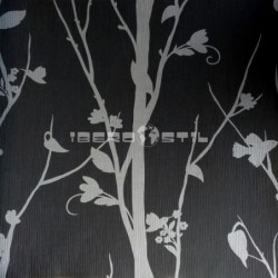 papel pintado barato  luanda de la colección green leaves diseño de nuestro outlet