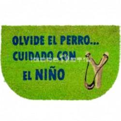 compra online Felpudo Cuidado Niño 40x70