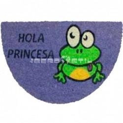 compra online Felpudo Rana Princesa 40x70