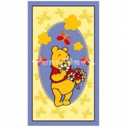 Alfombra Disney Winnie con flores 0