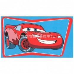Alfombra Disney Rayo McQueen 0.6x1 Rojo con SOPORTE ANTIDESLIZANTE