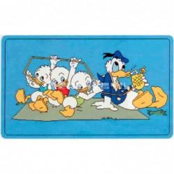 Alfombra Disney Donald y sus sobrinos 0.6x1 Azul con SOPORTE ANTIDESLIZANTE