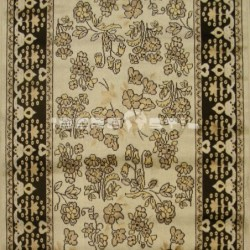 Alfombra William Shakespeare  70x120 Beige con SOPORTE ANTIDESLIZANTE