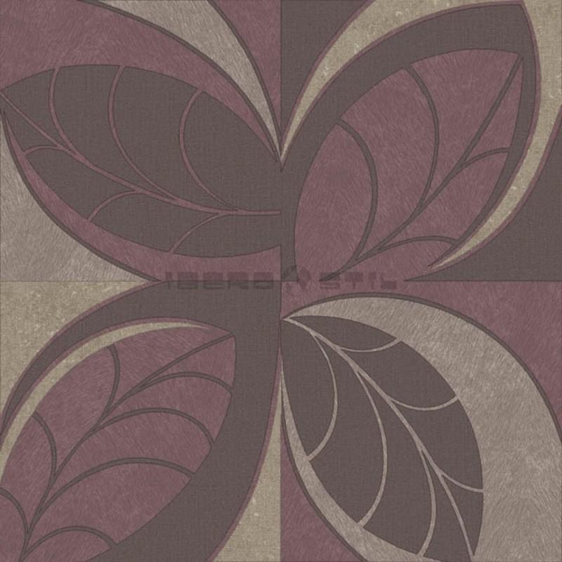 Papel pintado floral 4204 de la colección Safari novedad de papel pintado de iberostil.