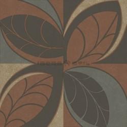 Papel pintado floral 4207 de la colección Safari novedad de papel pintado de iberostil.