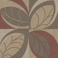 Papel pintado floral 4208 de la colección Safari novedad de papel pintado de iberostil.