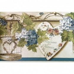 Papel pintado Cenefa 1169 de la colección Blooming Garden 7 cenefa papel pintado en oferta de iberostil.