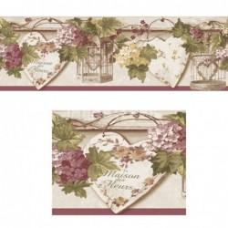 Papel pintado Cenefa 1170 de la colección Blooming Garden 7 cenefa papel pintado en oferta de iberostil.