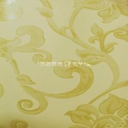 Papel pintado floral 1502 de la colección Oro y Argento novedad de papel pintado de iberostil.