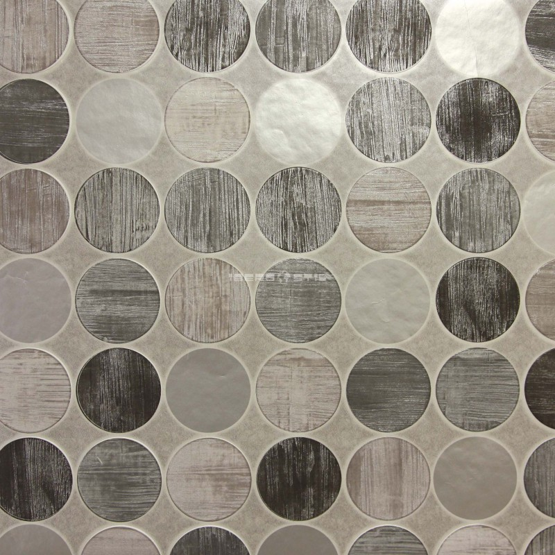 Papel pintado geometrico BR103 de la colección Brunch novedad de papel pintado de iberostil.