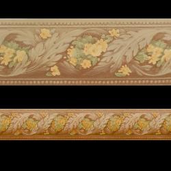 Romana Cenefa 8.8 cm SEMI-ADHESIVA en tonos marrones