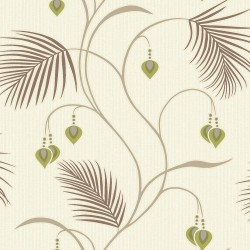Papel pintado vinilico 1375481 Lime_Cream de la Colección Moriko