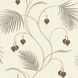 Papel pintado vinilico 1375483 Choc_Cream de la Colección Moriko