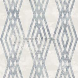 Papel pintado geométrico de rombos 167367 de la colección LIA novedad lbero Stil