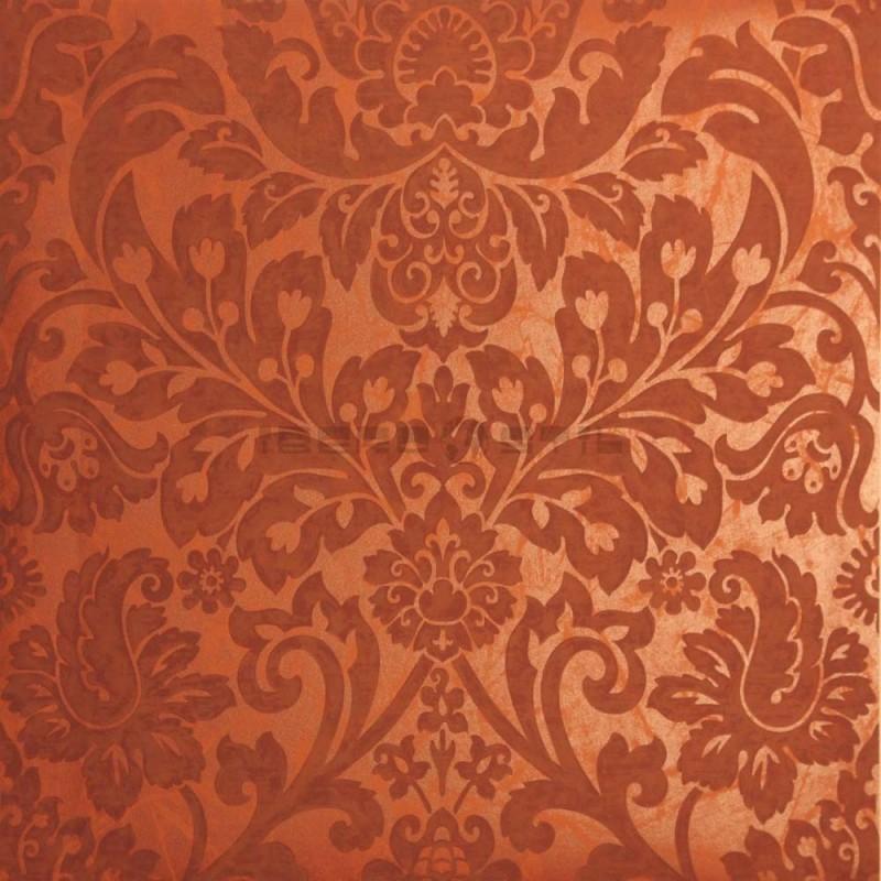 Papel pintado efecto brillante adamascado BA139 de la colección BALMORAL novedad lbero Stil