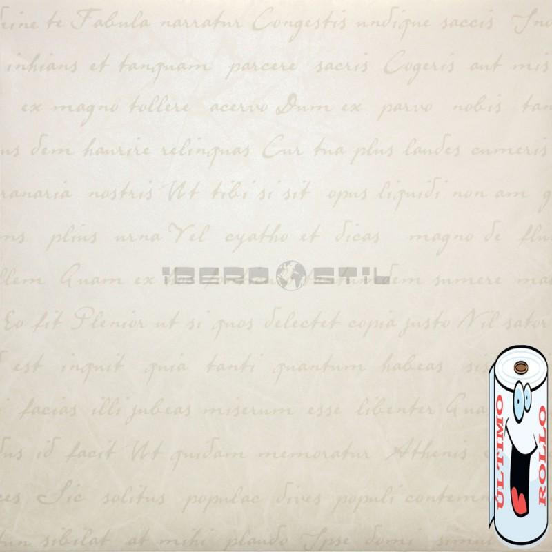 Papel pintado efecto brillante de letras BA121 de la colección BALMORAL novedad lbero Stil
