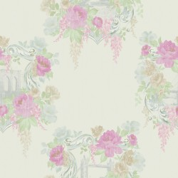 98180 Kingston pink Bloomsbury Papel Pintado Estampado animal y floral