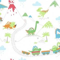 Papel pintado infantil 1312530 de la colección KIDS DREAMS novedad lbero Stil