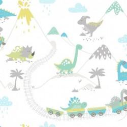 Papel pintado infantil 1312531 de la colección KIDS DREAMS novedad lbero Stil
