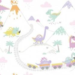 Papel pintado infantil 1312532 de la colección KIDS DREAMS novedad lbero Stil